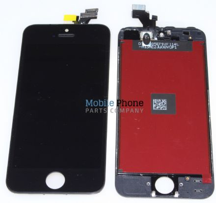 Apple iPhone 5 LCD + Digitiser Black - High Quality